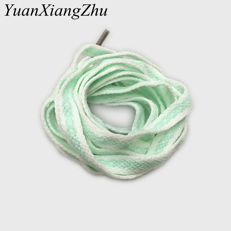 1Pair New Pattern Color Matching Flat Lace Sneakers Casual Shoelaces For Men Women Shoelace Width 0.8cm Length 80/100/120cm HW-1 fashion rabbit and grass pattern 10cm width wacky tie for men