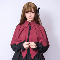 Princess sweet lolita Dolly Delly Bat devil cloak Dolley 0009