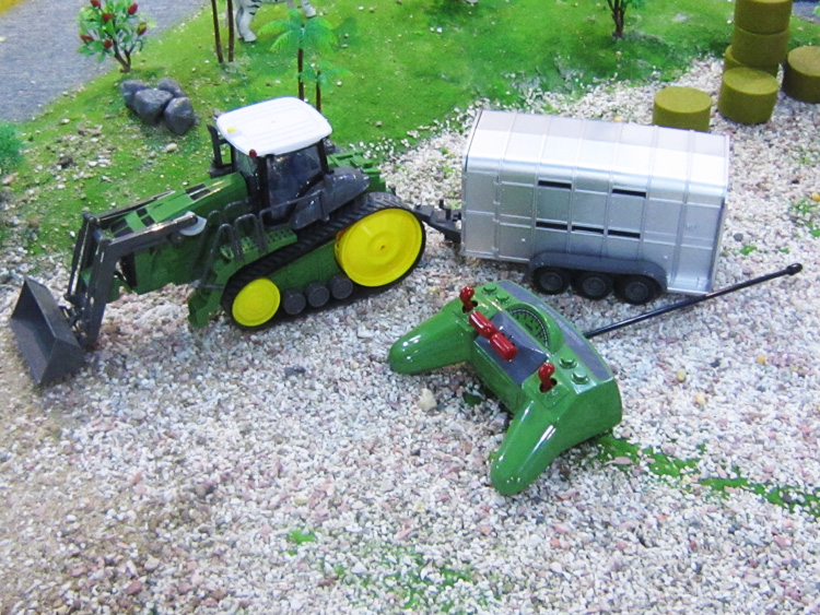 Kingtoy Detachable Remote control Big Digger Size Kingtoy fun 1:28 Multifuncional rc farm trailer tractor truck free shipping remote control 1 32 detachable rc trailer truck toy with light and sounds car