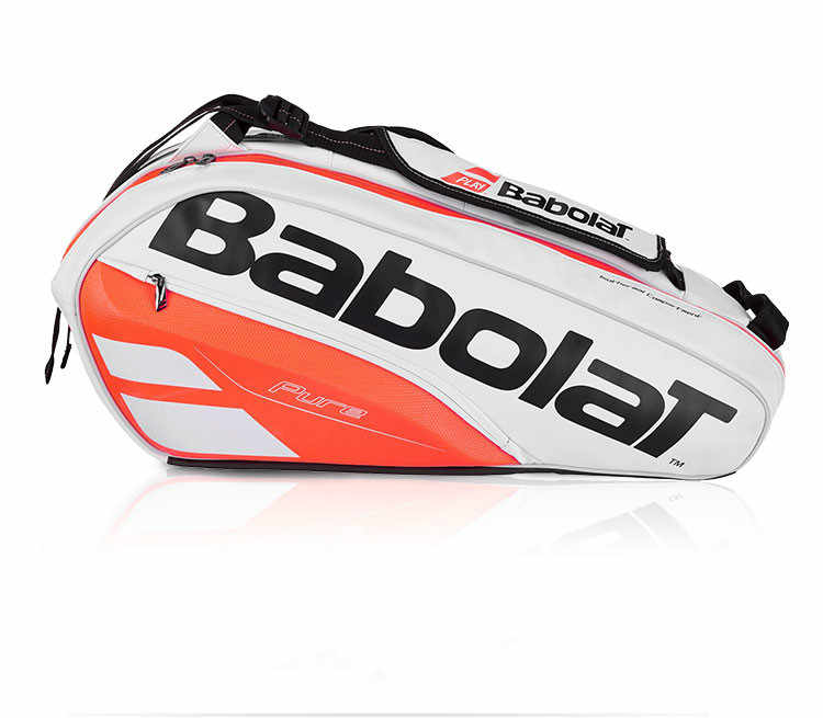 Genuine Babolat Tennis Bag Brand Raquete De Tenis Backpack New Back Pack Tennis Bag 6 Pieces Of Equipment