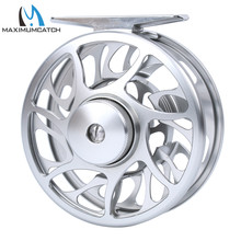 Maximumcatch 5wt Fly Fishing Reel 4.3oz/133g Large Arbor T6061 Aluminum Fly Reel