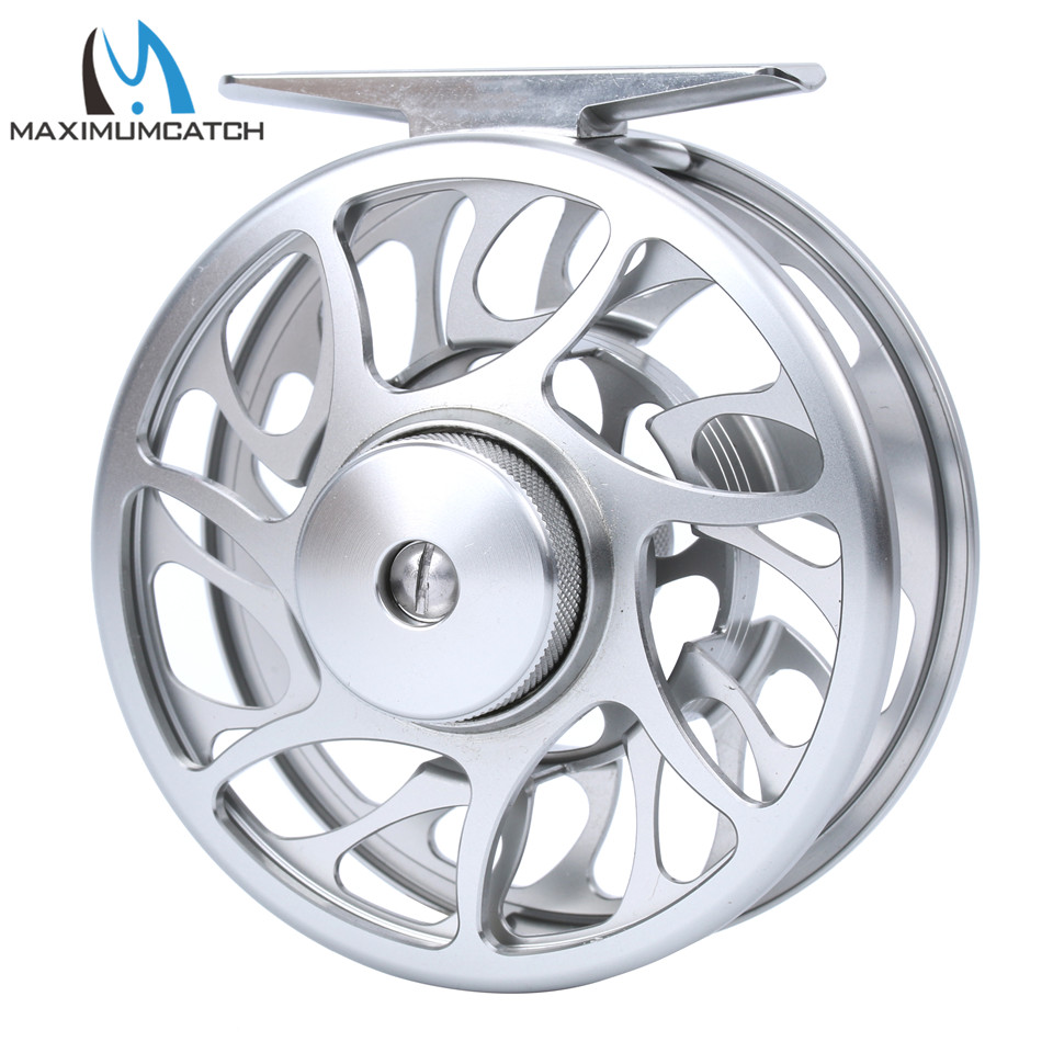 Maximumcatch Fly Fishing Reel 06N 3-10WT CNC Machine Cut Fly Reel Large Arbor Aluminum Fly Reel maximumcatch 06n 2 3 4 5 6 7 8wt fly fishing reel cnc machine cut large arbor aluminum silver color fly reel page 8