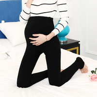 Winter Maternity Leggings Pregnancy Pants Plus Velvet Sliming Thickness Maternity Pants For Pregnant Women