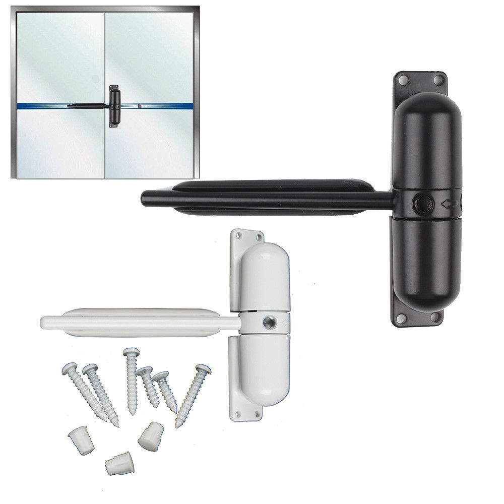 Surface Mounted DOOR GATE CLOSER Outdoor Spring Adjustable Auto Fire Rated Furniture