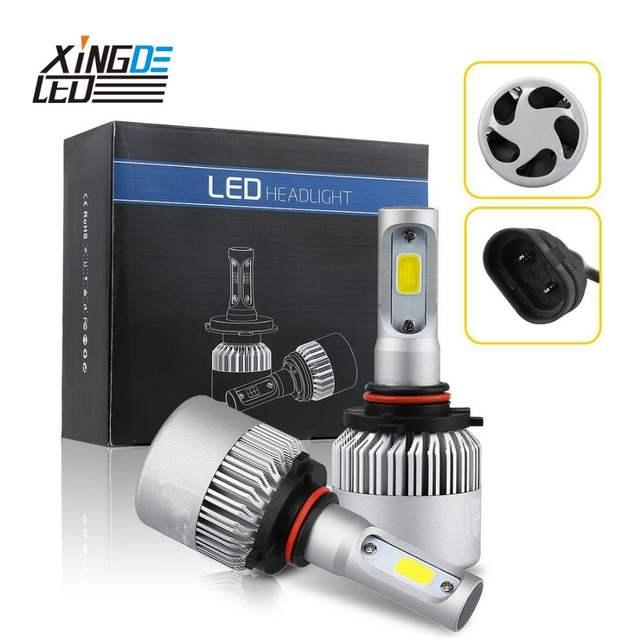 online shop auto led headlight h13 9012 h7 h4 h8/h11 led hb3/9005