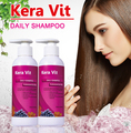 KeraVit keratin treatment 250ml *2pcs keratin tratment after daily care shampoo smooth shine Damage Repaired hair  free shipping