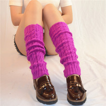 Women Ladies Winter Spring Knit Crochet Leg Warmers socks boots