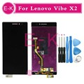 "High quality 5.0"" For Lenovo Vibe X2 LCD Display + Touch Screen Digitizer Assembly Replacement X2-TO X2-CU Black + Tools"