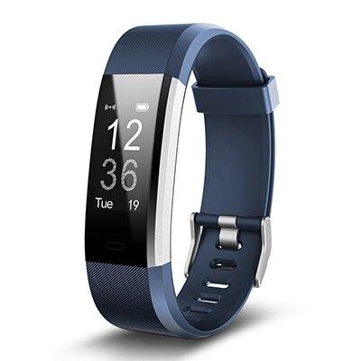 Smartch Original ID115HR Plus de banda inteligente reloj ID115 HR Bluetooth llamada de recordatorio rastreador de Fitness pulsera ID115
