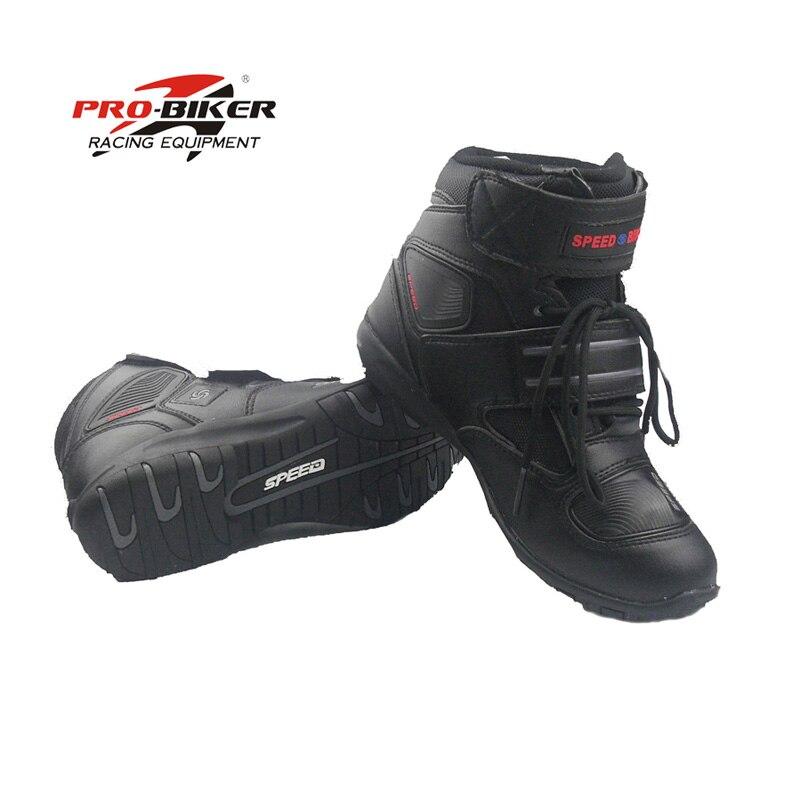 Bottes de vitesse Pro-motard moto de course en cuir bota de moto cross botas moto r chaussures de vélo de course de vitesse taille 7.5 8 8.5 9 9.5