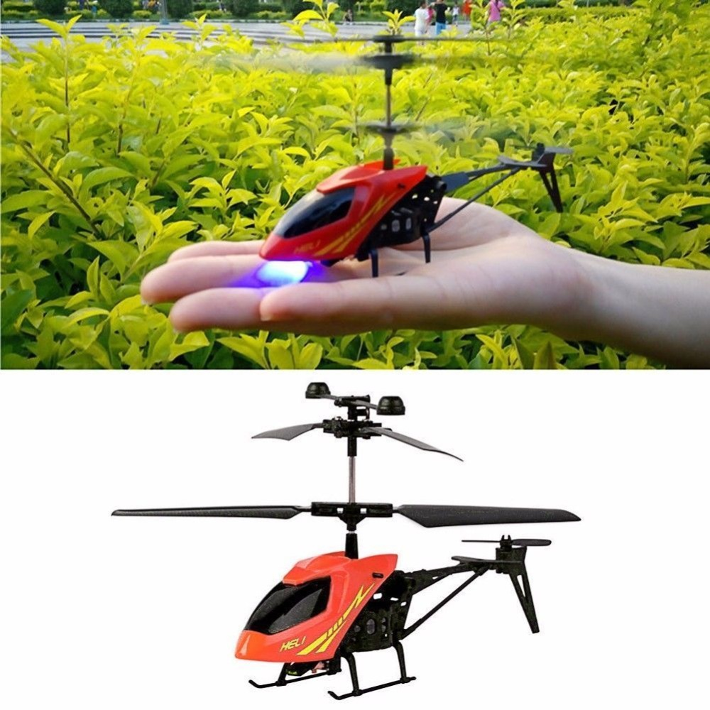 M89CHot! Mini 2CH RC Helicopter Radio Remote Control Electric Micro Aircraft 2 Channels Red