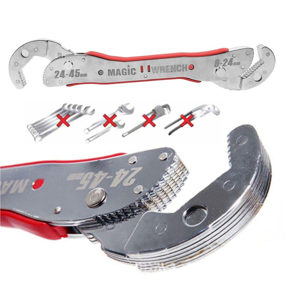 Onnfang Universal llave 9-45mm/9-32mm llave mágica de llave ajustable rápido agarre las teclas de función llaves 1 Set