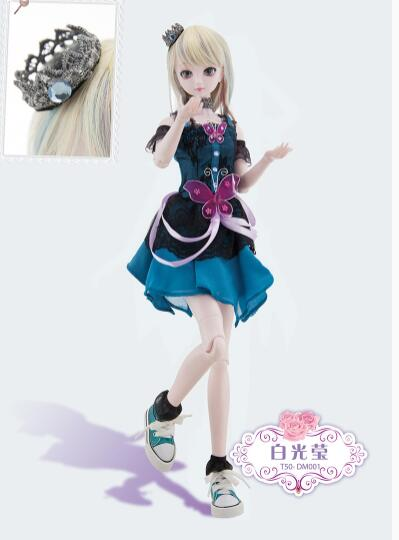 1 4 50cm 18 Full Set with Makeup BJD Doll 18 inch 19 jointed dolls Toy