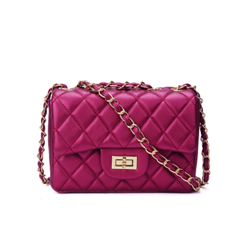 Suanni 2018 Fashion Leather Messenger Chain Small Bags Brand Designer Quilted Women Mini Tote Clutch Bag Handbag Crossbody Bag mini quilted luggage chain bag women s 2018 fashion designer quilting stitched plaided top handle shoulder bag purse handbag