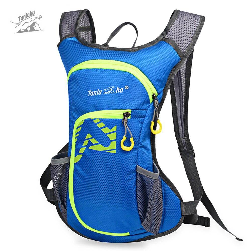 Tanluhu 12L Outdoor Waterproof Nylon Climbing Bag Bike Backpack Men Women Ultralight Sport Running Cycling Hiking Travel Bag
