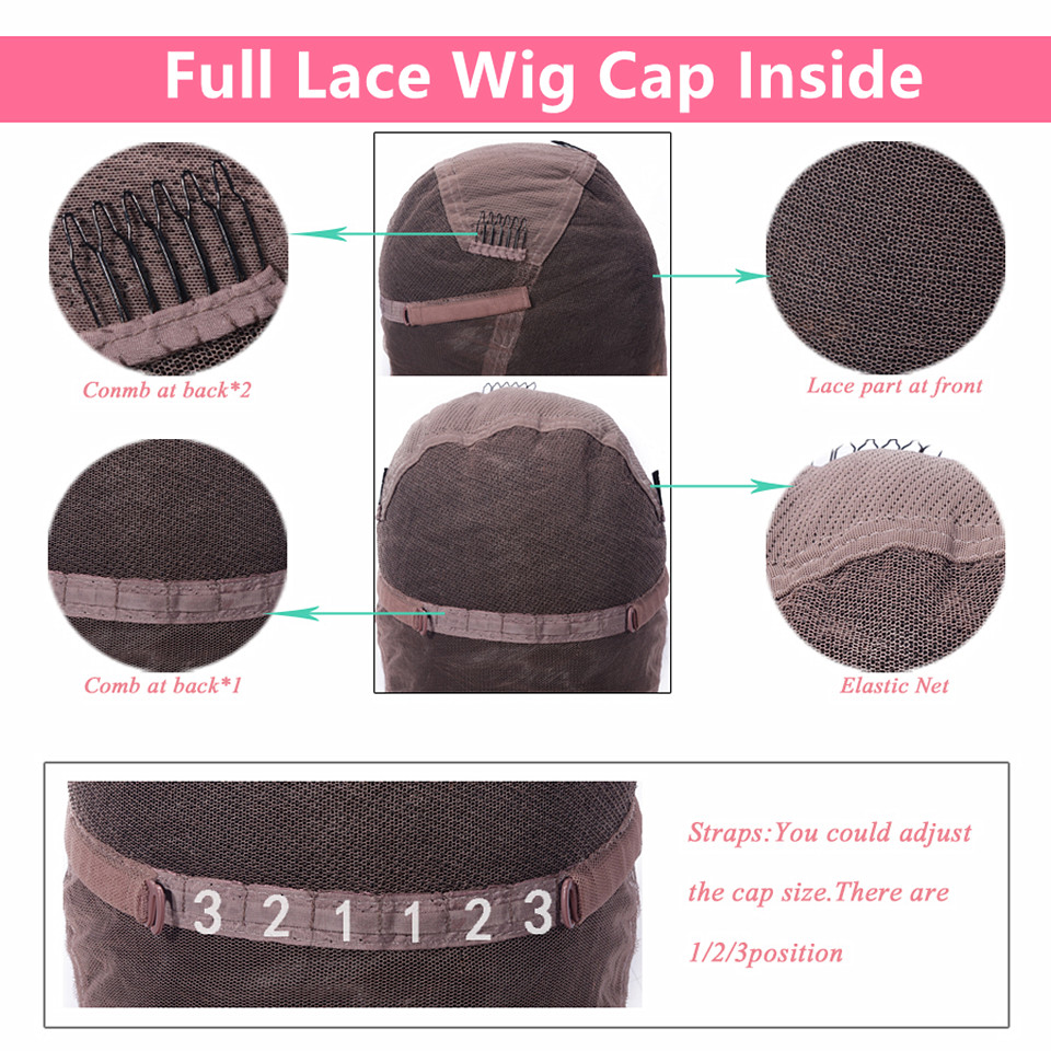 full lace wig cap inside