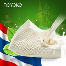 NOYOKE 60*40*12-10 Cloud Enjoy Thailand Natural Latex Neck Bonded Repair Cervical Vertebrae Health Care Natural Latex Pillow