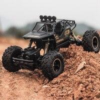 Ewellsold New 1/16 Aluminum Alloy Car Shell Remove controlled Rock Crawler R/C Buggy Car Model RC trucks for Kids