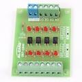 5 В до 12 В 4Bit Оптрон Изолятор PLC Сигнал Уровня Напряжения Конвертер Доска