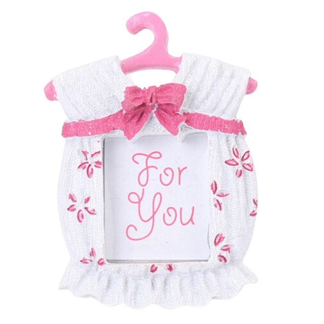 1pc Sweet Cute Baby Clothes Bowknot Resin Baby Photo Frame Creative ...
