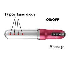 Distributors logo printed 650 nm infrared laser vaginal rejuvenation machine female private parts