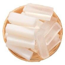 250 г прозрачная белая мыльная основа DIY мыло ручной работы сырье глицериновое мыло с кокосовым маслом для мыловарения ручная стирка