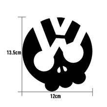 Sliverysea Phantom Ghost Rider Quỷ Đầu Lâu Vinyl Xe Đề Can Dán Xe Máy Trang Trí Đen/Bạc