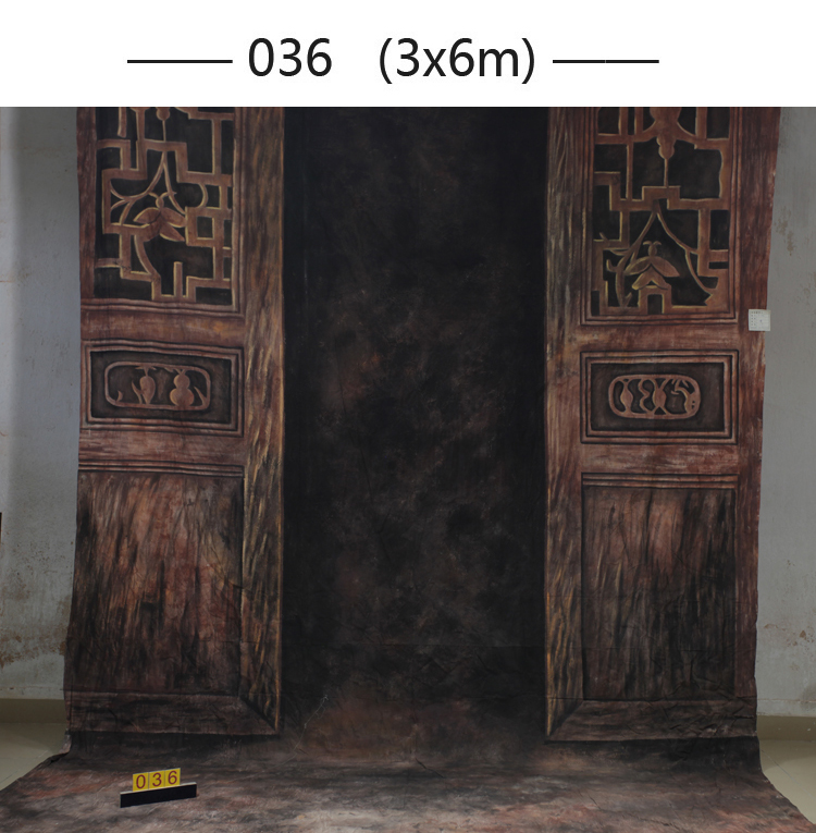 3x6m Hand Painted vintage wooden door photographic background 036,fondos de estudio fotografia,backgrounds for photo studio