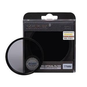 Image 3 - Zomei neutralnej gęstości soczewka filtra zestaw ND ND2 + ND4 + ND8 52mm 58mm 62mm 67mm 77mm 82mm dla Canon Nikon Sony obiektyw aparatu