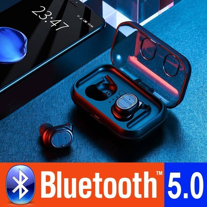 TWS Wireless Bluetooth Earphones Touch Stereo Bluetooth 5.0 Headset Outdoor Sports Fitness Mini Earbuds Single Ears for Phones-in Bluetooth Earphones & Headphones from Consumer Electronics