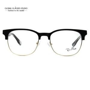 Image 5 - Designer Inspired Fashion Grey Metal Cool Eyewear Optical Frames Glasses G71