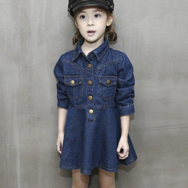jeans jurk meisjes