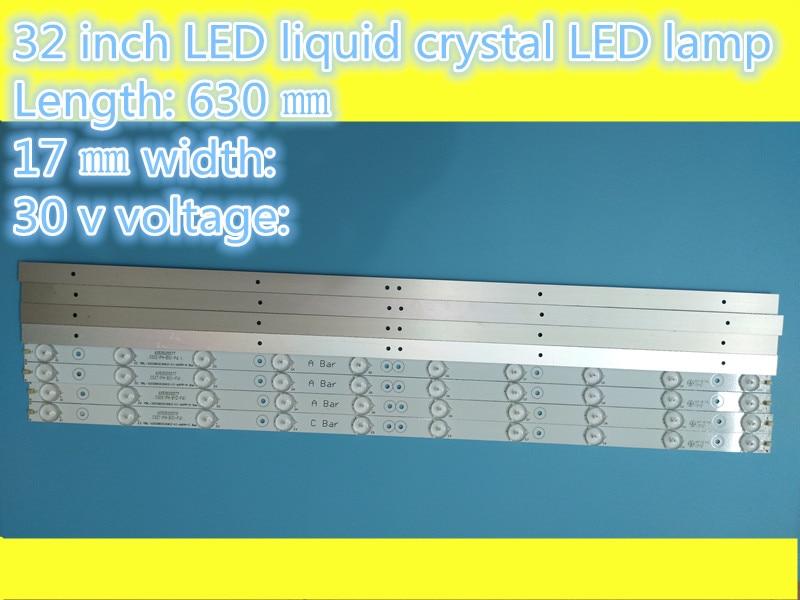100% новый общий 32 дюймовый Алюминиевый подложка 10 лампа светодиодный светильник Leroy LCD ТВ светильник s лампа светильник проекционный объекти...