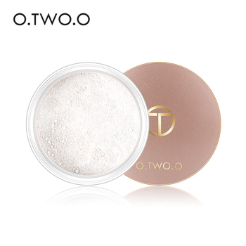 O.TWO.O Smooth Loose Powder Matt Makeup Transparent Finishing Powder Waterproof Cosmetic Puff For Face Finish Setting With Puff 1