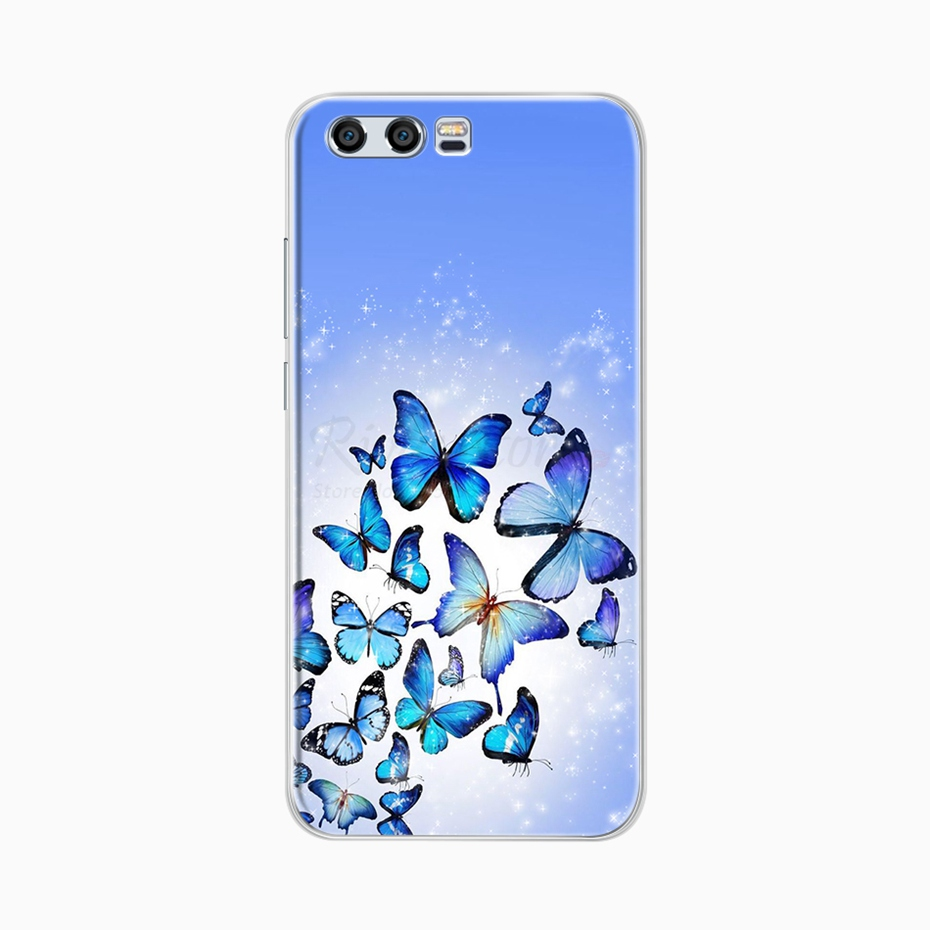 Case For Huawei P8 Lite P9 Lite Cases Cover Honor 8 Lite Coque Soft Silicon Bumper Phone Case On For Huawei Honor 9 10 Lite