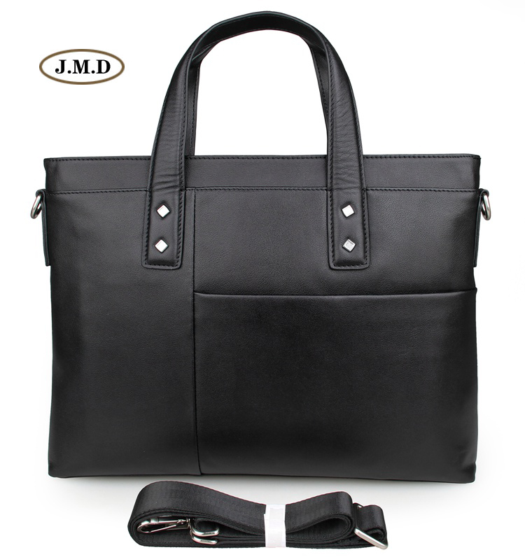 J.M.D Hot Selling Genuine Cow Leather Male Fashion Briefcase Laptop Bag Shoulder Bag Crossbody Bag Handbag Messenger Bag 7329AJ.M.D Hot Selling Genuine Cow Leather Male Fashion Briefcase Laptop Bag Shoulder Bag Crossbody Bag Handbag Messenger Bag 7329A
