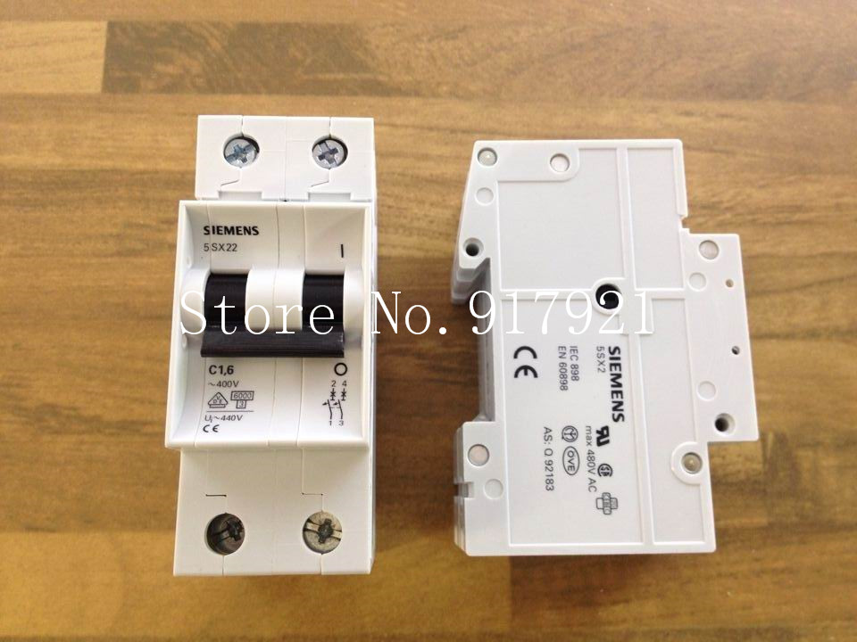 все цены на [ZOB] original original 5SX22 2P1.6A400V 2P1.5A miniature circuit breaker can replace the original authentic  --5pcs/lot онлайн
