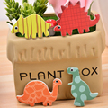 24 pcs/pack Dinosaur Party Cupcake Toppers Picks Funny Cake Toppers Decoration for Kids Birthday Favors Theme Party Accessory