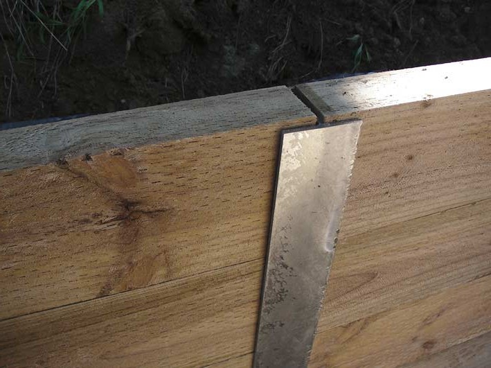 Galvanized C Channel Steel Posts Treated Pine Sleepers In