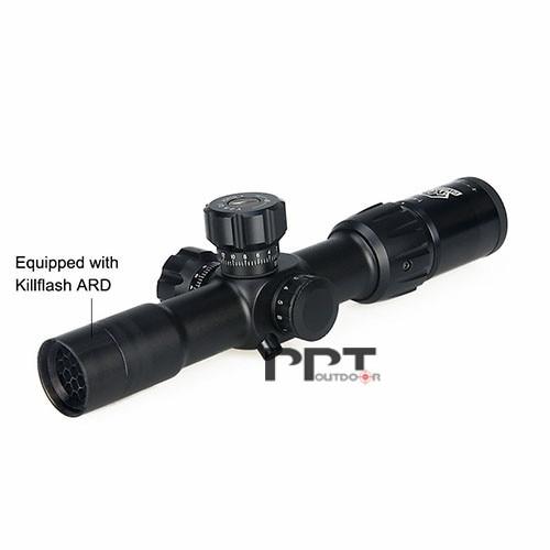 Canis Latrans 1-4x24 IRF Rifle Scope Mil-dot