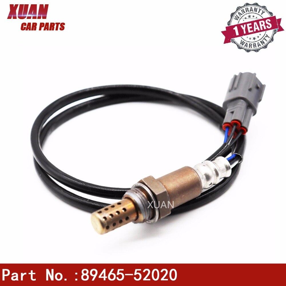 Sensor de oxígeno Lambda O2 aire Sensor de índice de combustible de 89465-52020 para 1999-2007 TOYOTA YARIS 1.0L MR2 1.8L Carmy 3.0L DOX-0206