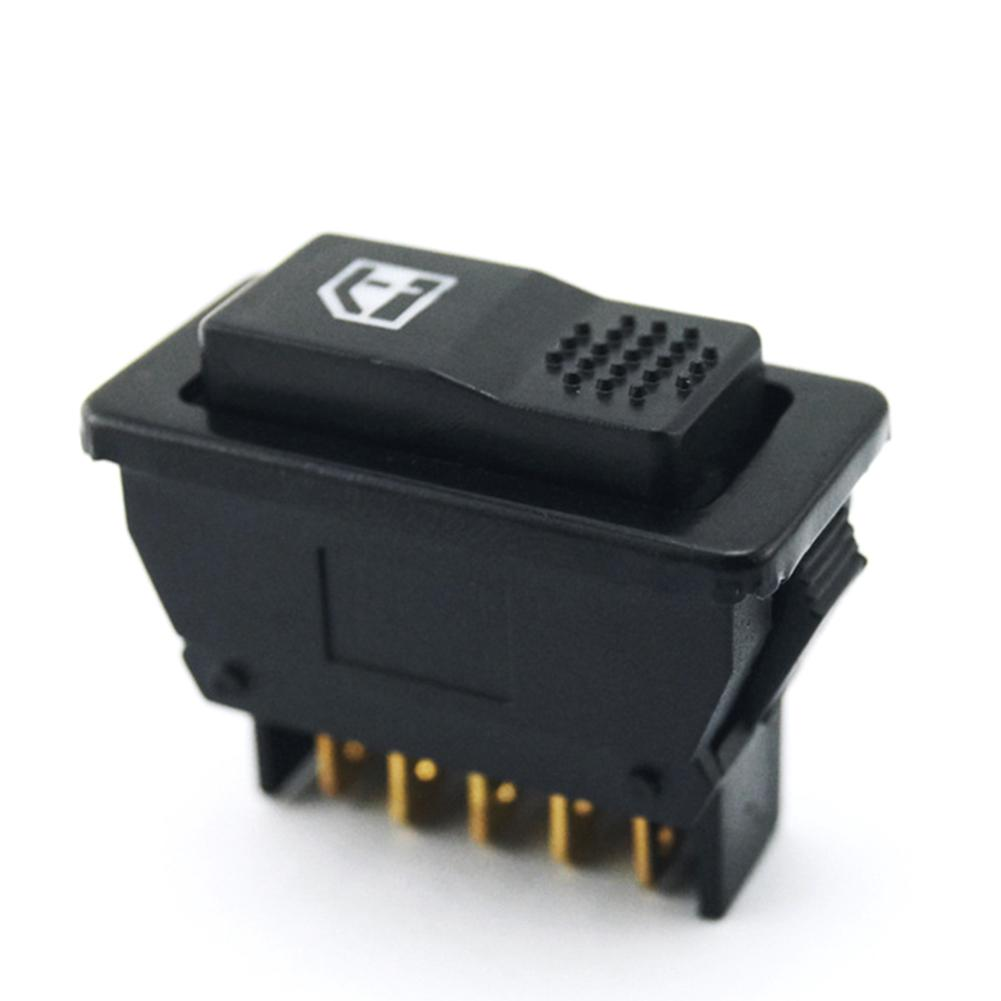 12V 24V 5 pin Car Power Window Single Switch With Light Built in ...