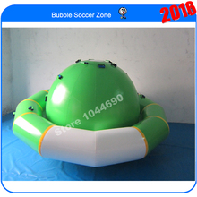 Free shipping Dia 3m inflatable water saturn