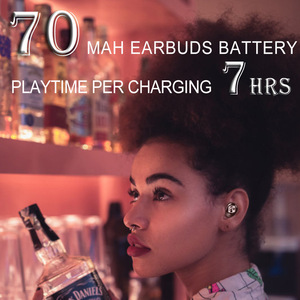 Image 4 - OUKK TWS X20 Plus 3000mAH Charging Case Wireless Headphone Bluetooth 5.0 Waterproof IPX5 Deep Bass Earphone Bluetooth Earbuds