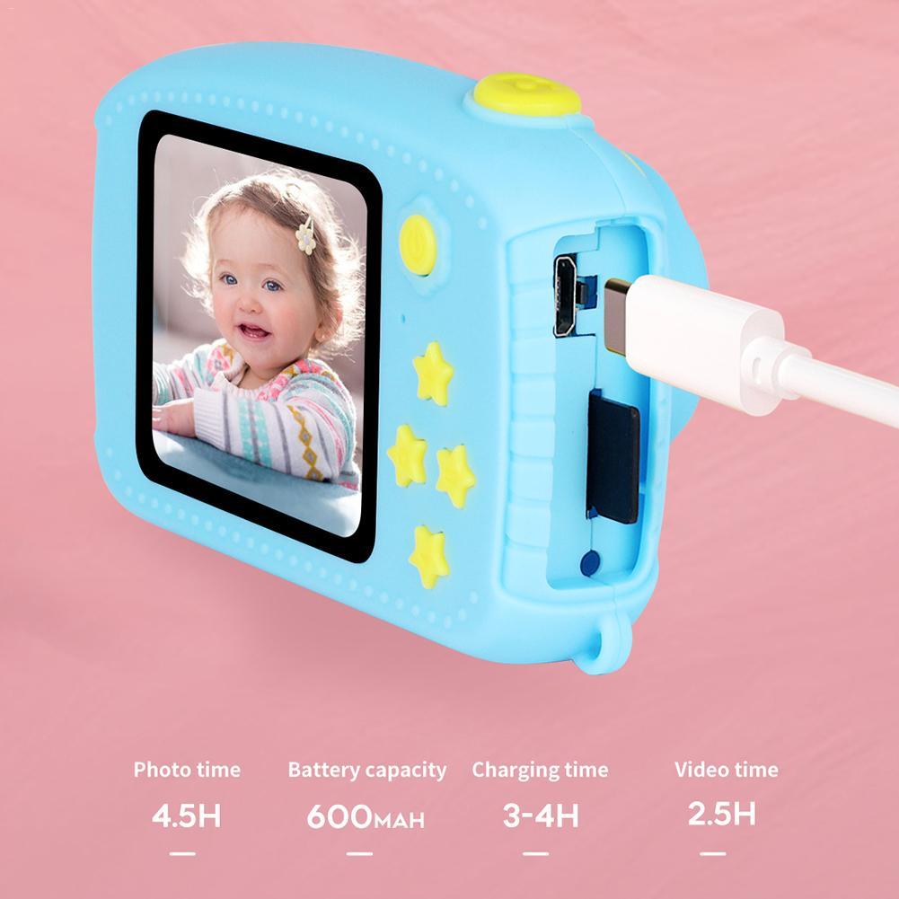 32G Mini caméra numérique 800 W dessin animé mignon lapin caméra jouets enfants cadeau d'anniversaire 1080 P bambin jouets caméra pour enfants - 4