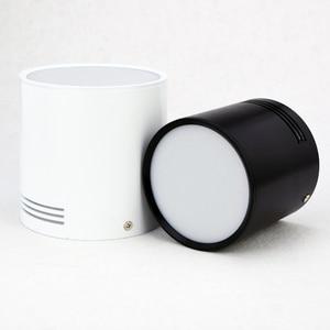 Image 3 - 7 واط/9 واط/12 واط/18 واط سطح شنت LED النازل AC110V/220 فولت الإضاءة الزخرفية النازل SMD5730 مصدر ضوء شحن مجاني
