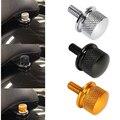 Хром/Черный/Золото Заготовки Алюминия С Накаткой Сиденье Болт Для Harley Sportster Dyna Touring