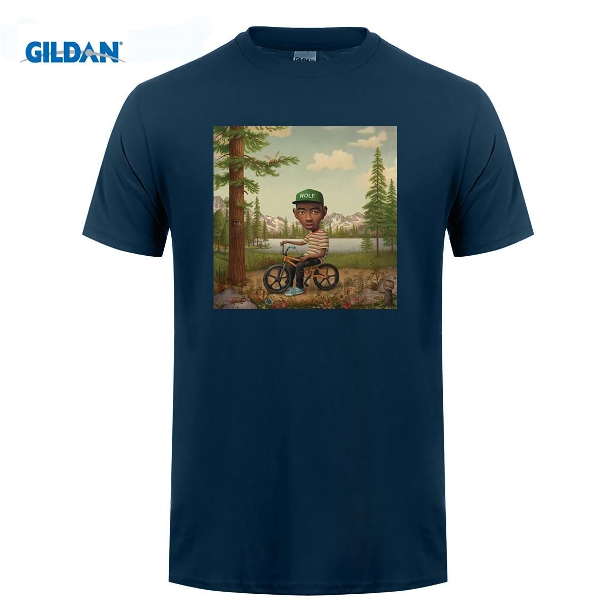 8ce868ac6f59 GILDAN Tyler The Creator Wolf T Shirt EARL Odd Future Wolf Gang HIP HOP  OFWGKTA OF New Summer-in T-Shirts from Men s Clothing on Aliexpress.com