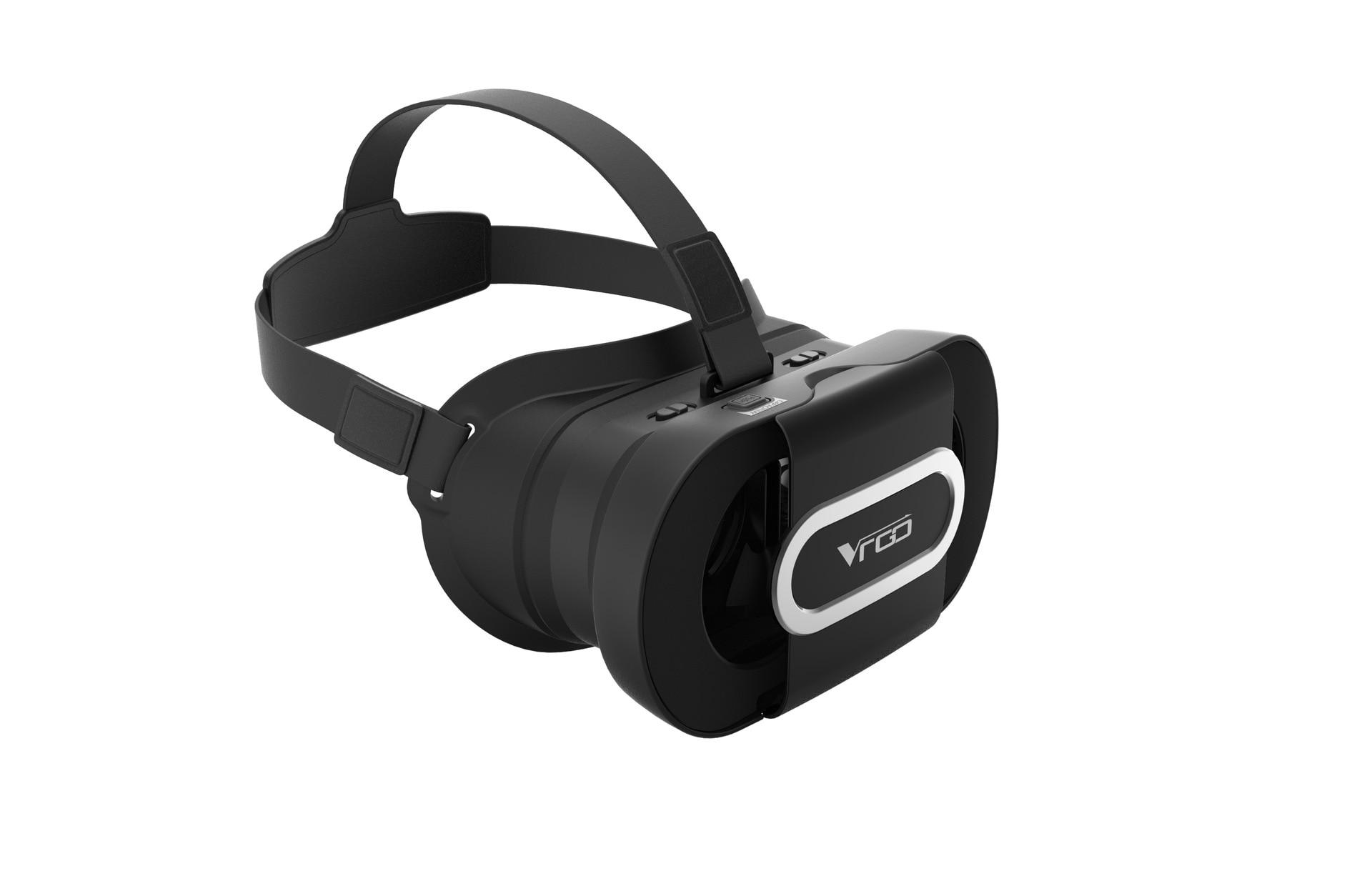 RITECH VR GO Portable Foldabe 3 D Video VR Glasses Box Virtual Reality Movie Helmet Box for 4.7-6 inch Smartphone F19941/2