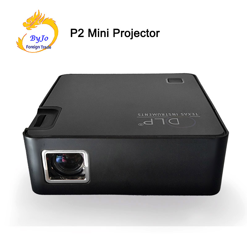Original UNIC P2 Mobile Projector P2 Pocket Home Movie Projector Proyector Beamer Battery